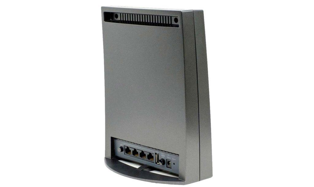puertos traseros del Netgear Nighthawk X6S EX8000